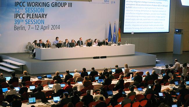 IPCC launch room