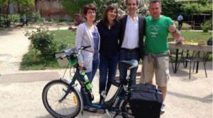 Zero waste bike tour