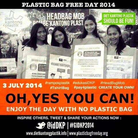 image plastic bag free day