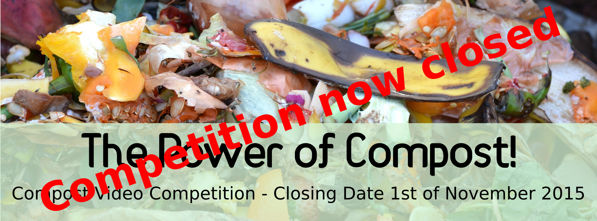 """The Power of Compost"" Competition Closed"