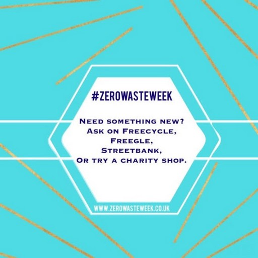 #ZeroWasteWeek ideas for reuse