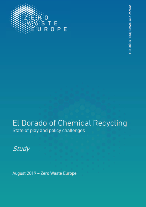 Press Release: El Dorado of Chemical Recycling, State of play and policy challenges