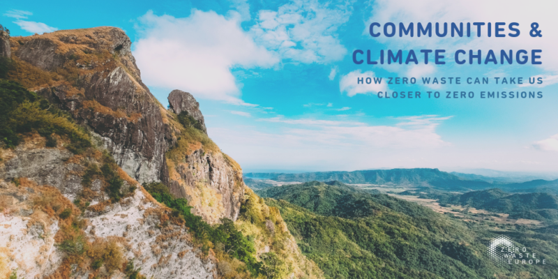 Communities and Climate Change: how a zero waste approach can take us closer to zero emissions