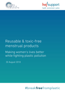 Reusable & toxic-free menstrual products: making women's lives better while fighting plastic pollution
