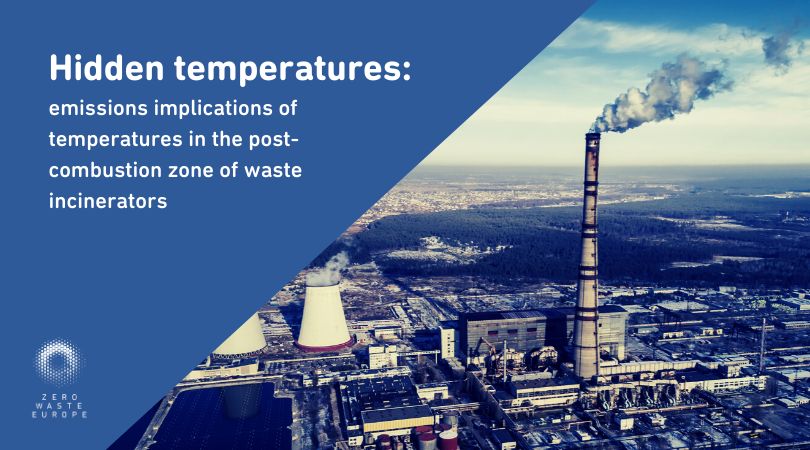 Hidden temperatures: emissions implications of temperatures in the post-combustion zone of waste incinerators