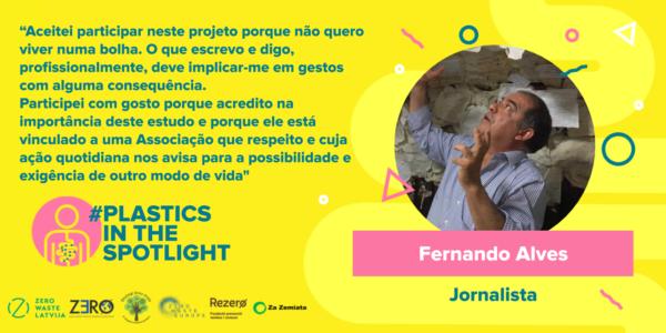 Plastics in the Spotlight Portugal - Fernando Alves