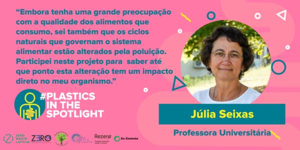 Plastics in the Spotlight Portugal - Júlia Seixas