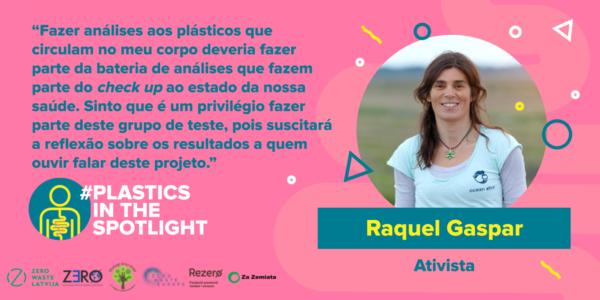 Plastics in the Spotlight Portugal - Raquel Gaspar