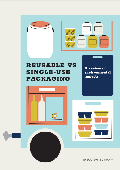 Executive summary: Reusable VS single-use packaging – A review of environmental impact