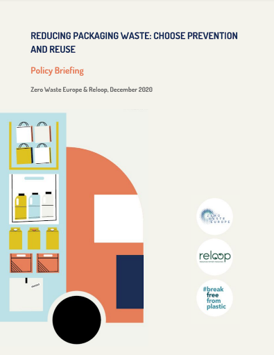 Reducing packaging waste: choose prevention and reuse