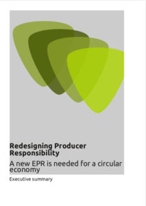 Redesigning Producer Responsibility - Executive summary